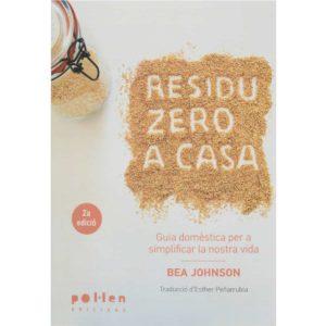 Llibre Bea Johnson Residu Zero a casa frontal