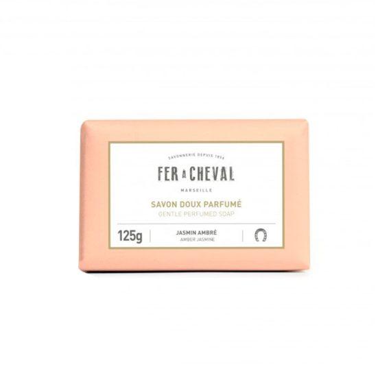 Pastilla de Jabón de Marsella Perfumada - Jazmín y Ámbar