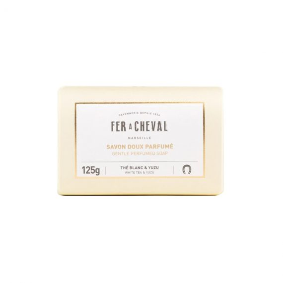 Pastilla de jabón de Marsella perfumada – Té Blanco y Yuzu
