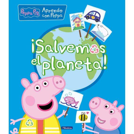 Portada libro ¡Salvemos el planeta!