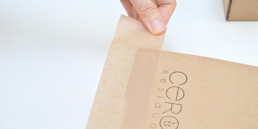 Cinta Adhesiva Papel Kraft Biodegradable