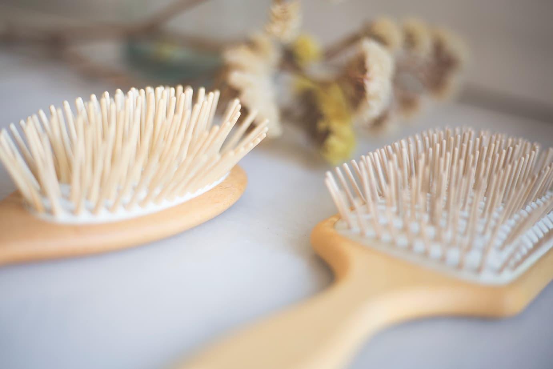 Foto cepillos de pelo