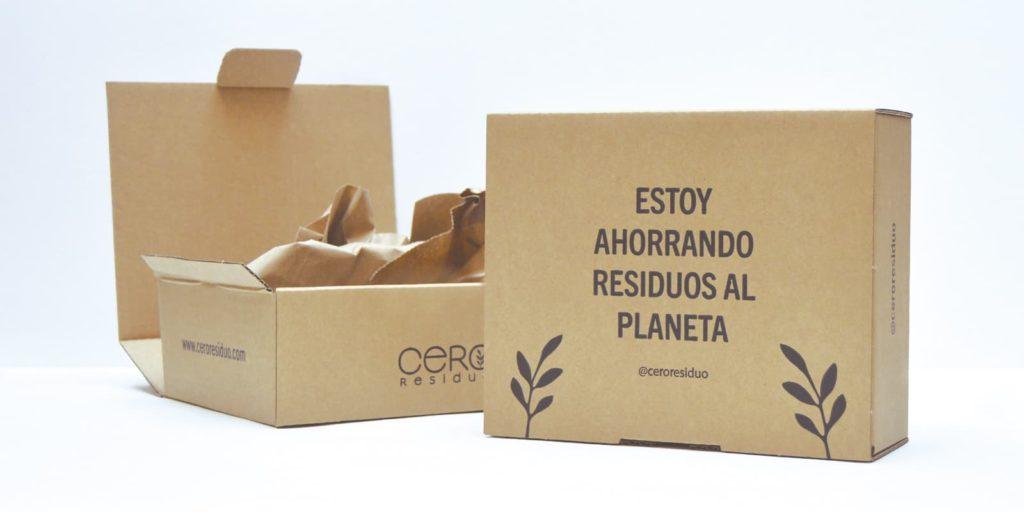 Packaging sostenible pedidos