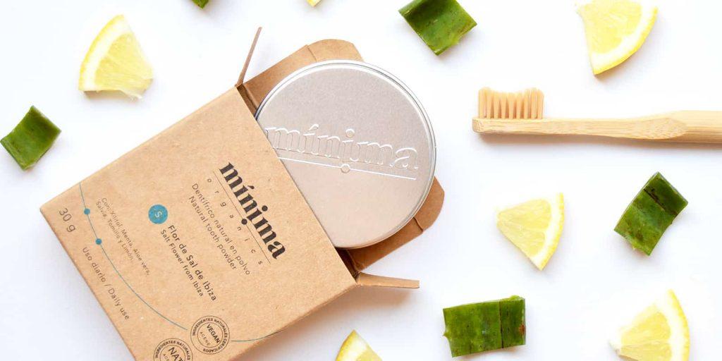 Pasta dientes polvo Mínima Organics Sal Ibiza
